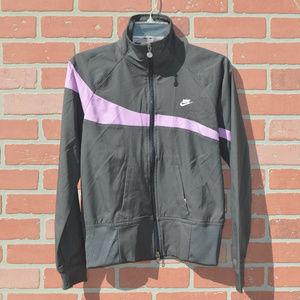 Nike women's full zip track suit jacket